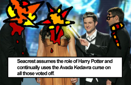 Seacrest becomes Harry Potter