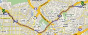 South Pasadena to Hollywood