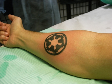 Galactic Empire Tattoo