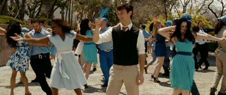 Post-coital dance number (500 Days of Summer)